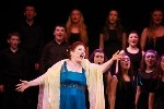 Majella Cullagh with Youth Choir